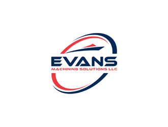 Evans Machining Solutions LLC logo design concepts #4