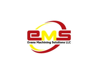 Evans Machining Solutions LLC logo design concepts #5
