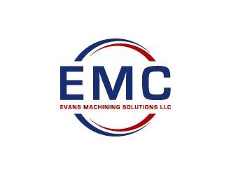 Evans Machining Solutions LLC logo design concepts #6