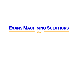 Evans Machining Solutions LLC logo design concepts #7