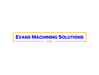 Evans Machining Solutions LLC logo design concepts #8
