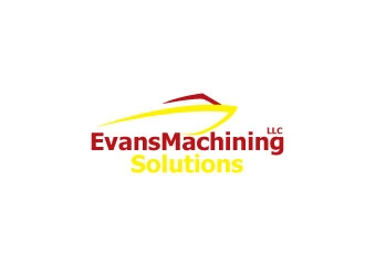 Evans Machining Solutions LLC logo design concepts #10