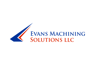 Evans Machining Solutions LLC logo design concepts #13