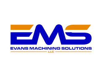 Evans Machining Solutions LLC logo design concepts #2