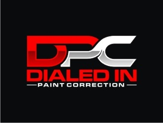 Dialed In Paint Correction logo design concepts #1