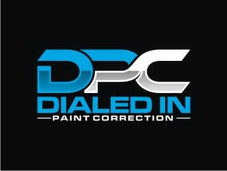 Dialed In Paint Correction logo design concepts #2