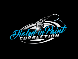 Dialed In Paint Correction logo design concepts #5