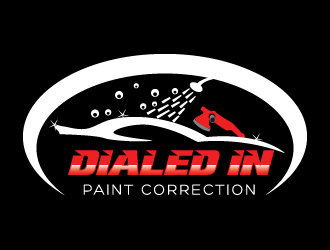 Dialed In Paint Correction logo design concepts #7