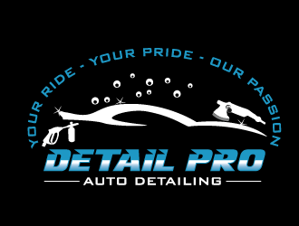 Dialed In Paint Correction logo design concepts #3