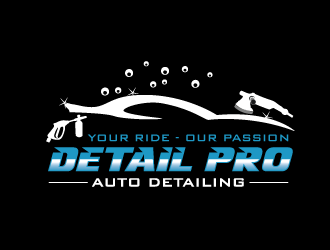 Dialed In Paint Correction logo design concepts #4