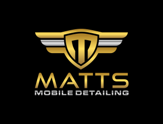 Matts Mobile Detailing logo design concepts #1