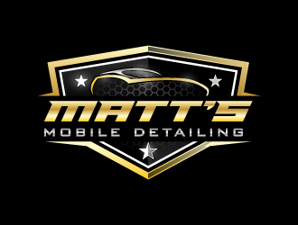 Matts Mobile Detailing logo design concepts #3