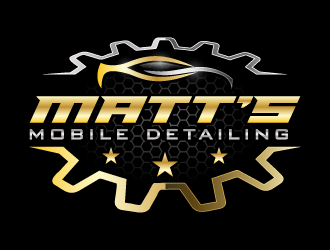 Matts Mobile Detailing logo design concepts #5
