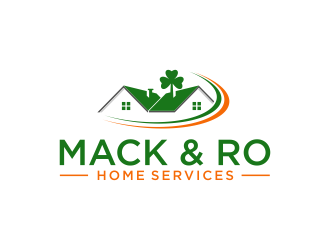 Mack & Ro Home Services logo design