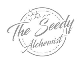 The Seedy Alchemist logo design concepts #5