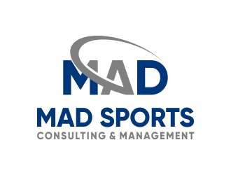 MAD Sports Consulting & Management  logo design concepts #6