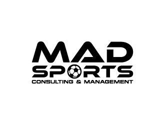 MAD Sports Consulting & Management  logo design concepts #9