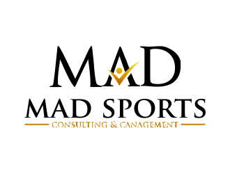 MAD Sports Consulting & Management  logo design concepts #11