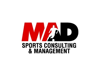 MAD Sports Consulting & Management  logo design concepts #13
