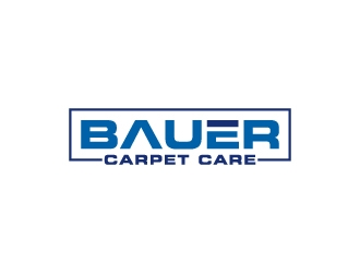 BAUER CARPET CARE logo design concepts #1