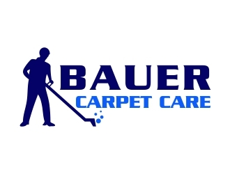 BAUER CARPET CARE logo design concepts #3