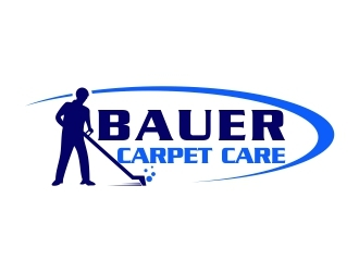 BAUER CARPET CARE logo design concepts #4