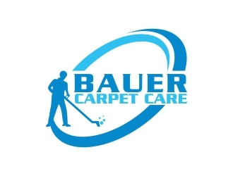 BAUER CARPET CARE logo design concepts #5