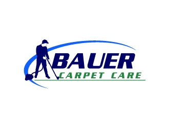 BAUER CARPET CARE logo design concepts #6