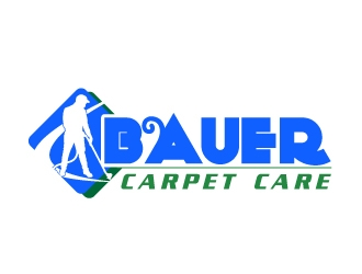 BAUER CARPET CARE logo design concepts #7