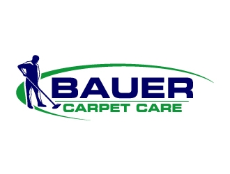 BAUER CARPET CARE logo design concepts #8