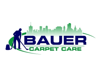 BAUER CARPET CARE logo design concepts #9