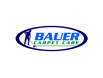 BAUER CARPET CARE logo design concepts #10