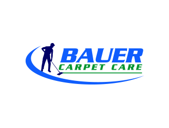 BAUER CARPET CARE logo design concepts #11
