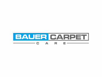 BAUER CARPET CARE logo design concepts #12