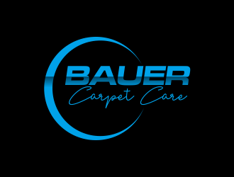 BAUER CARPET CARE logo design concepts #14