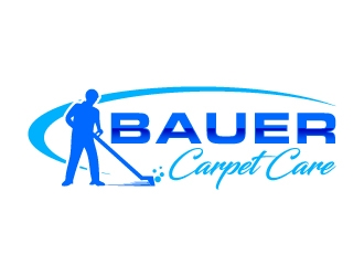BAUER CARPET CARE logo design concepts #15