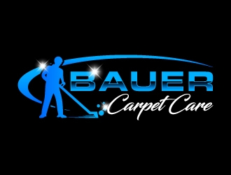BAUER CARPET CARE logo design concepts #16