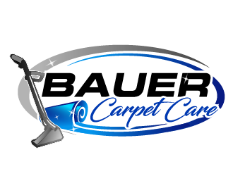 BAUER CARPET CARE logo design concepts #17