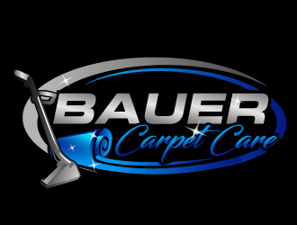 BAUER CARPET CARE logo design concepts #18