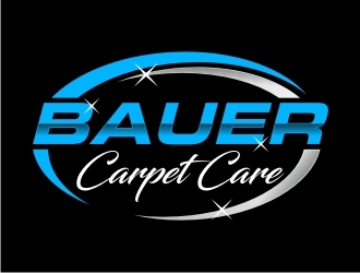 BAUER CARPET CARE logo design concepts #19