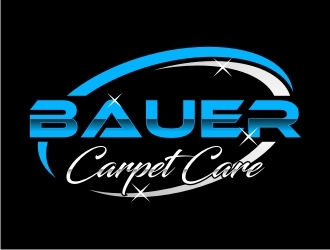 BAUER CARPET CARE logo design concepts #20