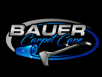 BAUER CARPET CARE logo design concepts #21