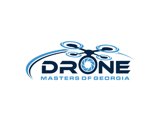 Drone Masters of Georgia logo design concepts #1