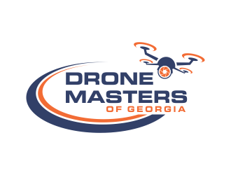 Drone Masters of Georgia logo design concepts #3