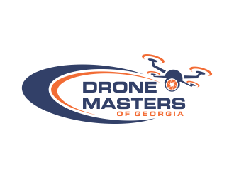 Drone Masters of Georgia logo design concepts #4
