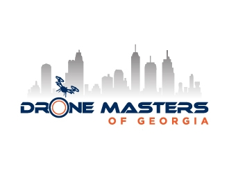 Drone Masters of Georgia logo design concepts #5
