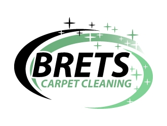 Brets Carpet Cleaning logo design concepts #1