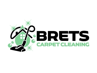 Brets Carpet Cleaning logo design concepts #2