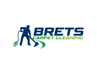 Brets Carpet Cleaning logo design concepts #3