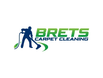 Brets Carpet Cleaning logo design concepts #4